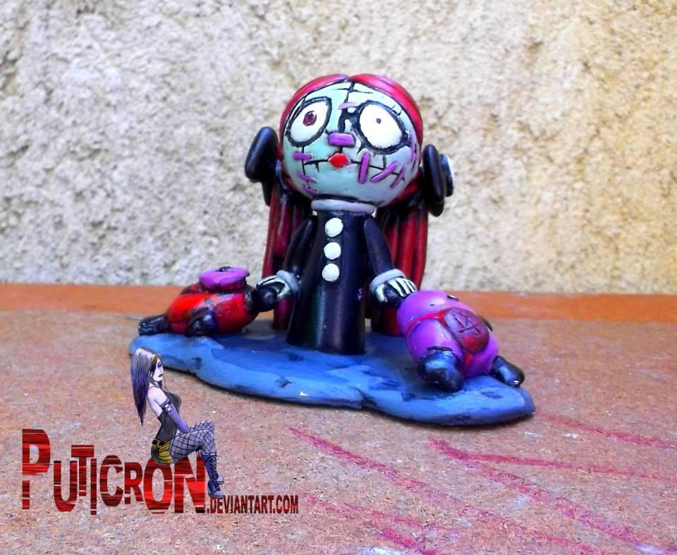 Tragic toys, broken hearts doll by puticron