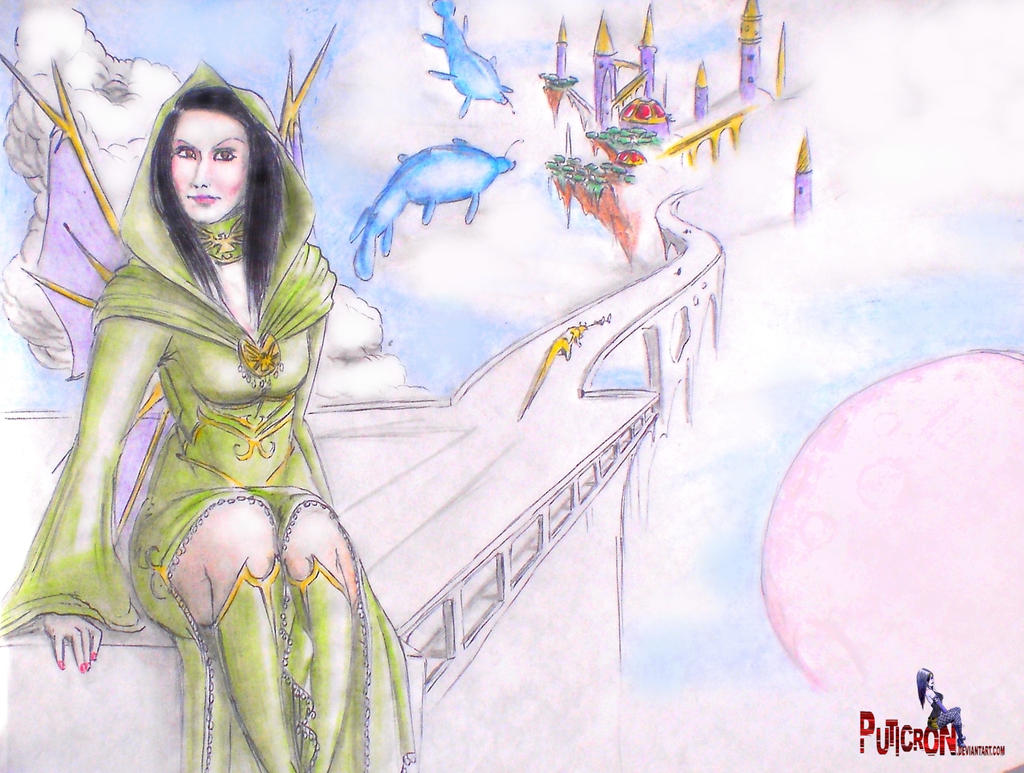 golphinx the celestial institute : sky whales by puticron