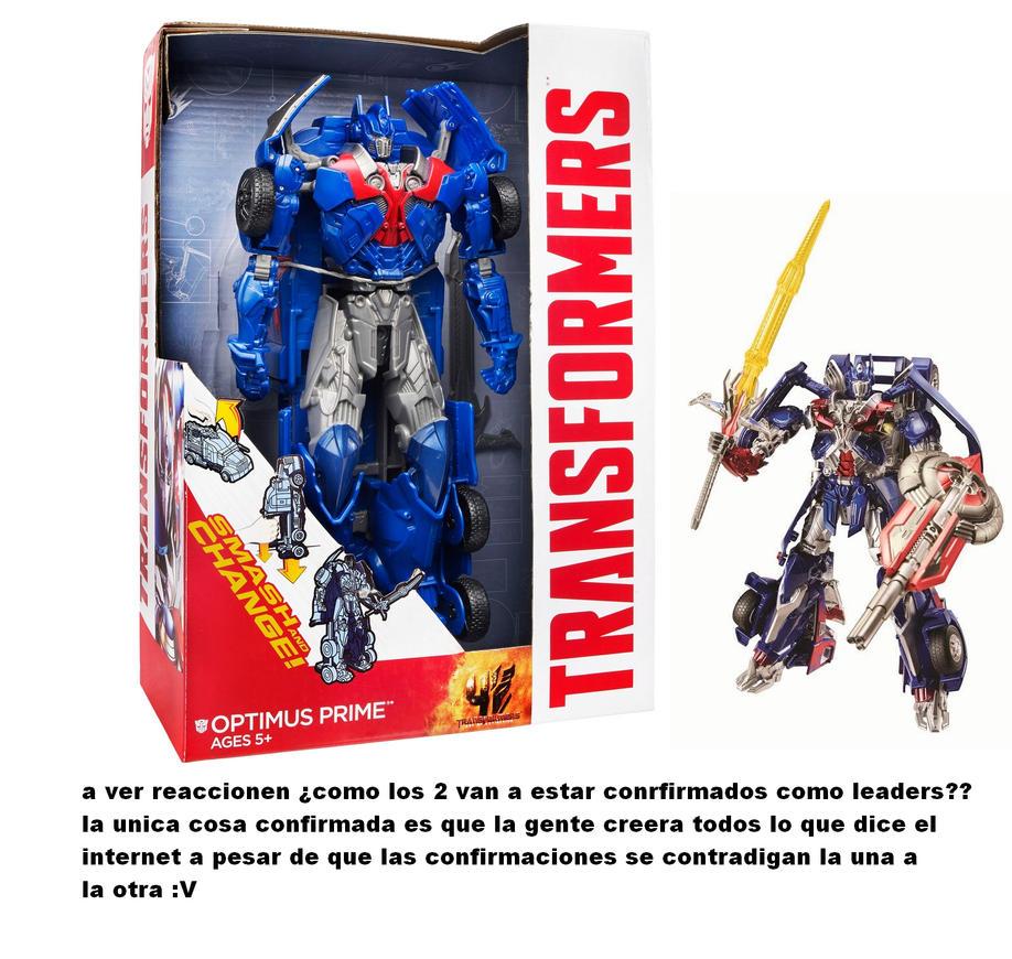transformers 4 toys optimus prime :V by puticron