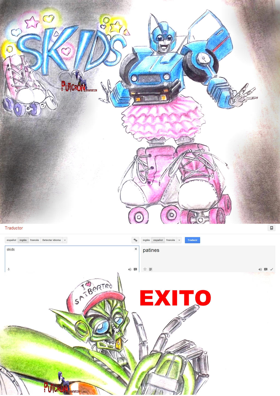 transformers : skids ! by puticron