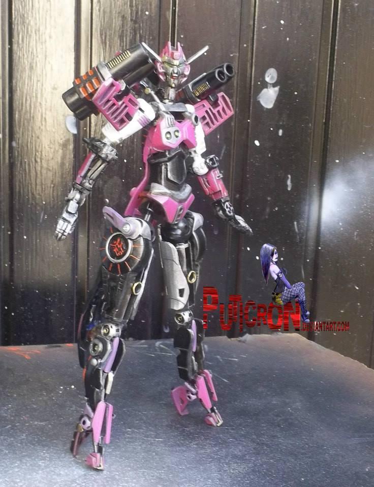 transformers custom age of extinction elita-1 by puticron
