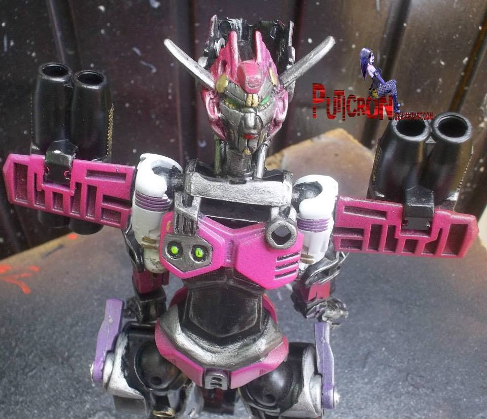 transformers customs age of extinction elita-1 by puticron