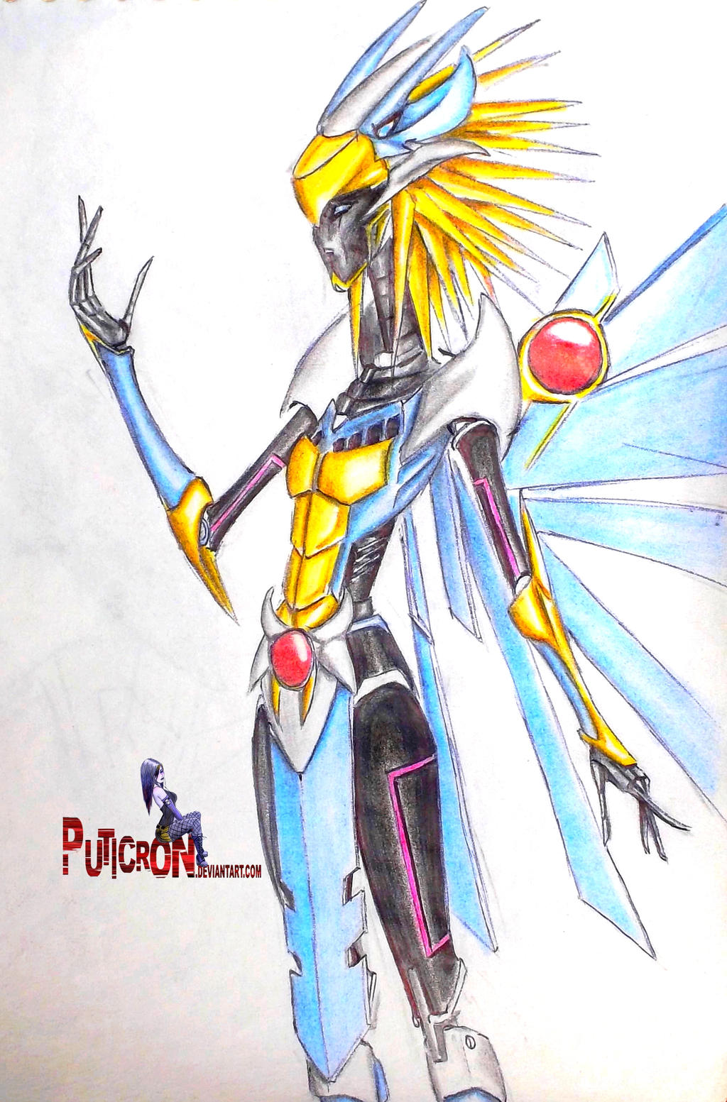 transformers prime oc luxa galatea by puticron