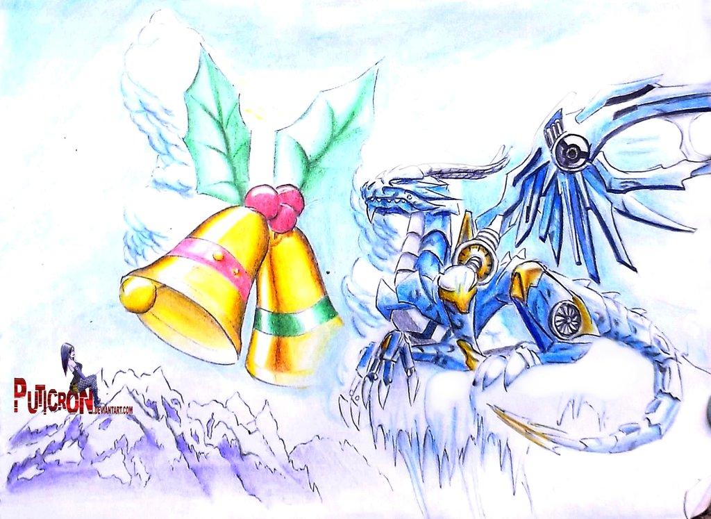 transformers prime : skystalker christmas by puticron