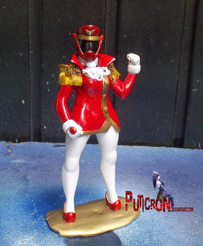 power rangers : rainbow guardians custom oc red by puticron