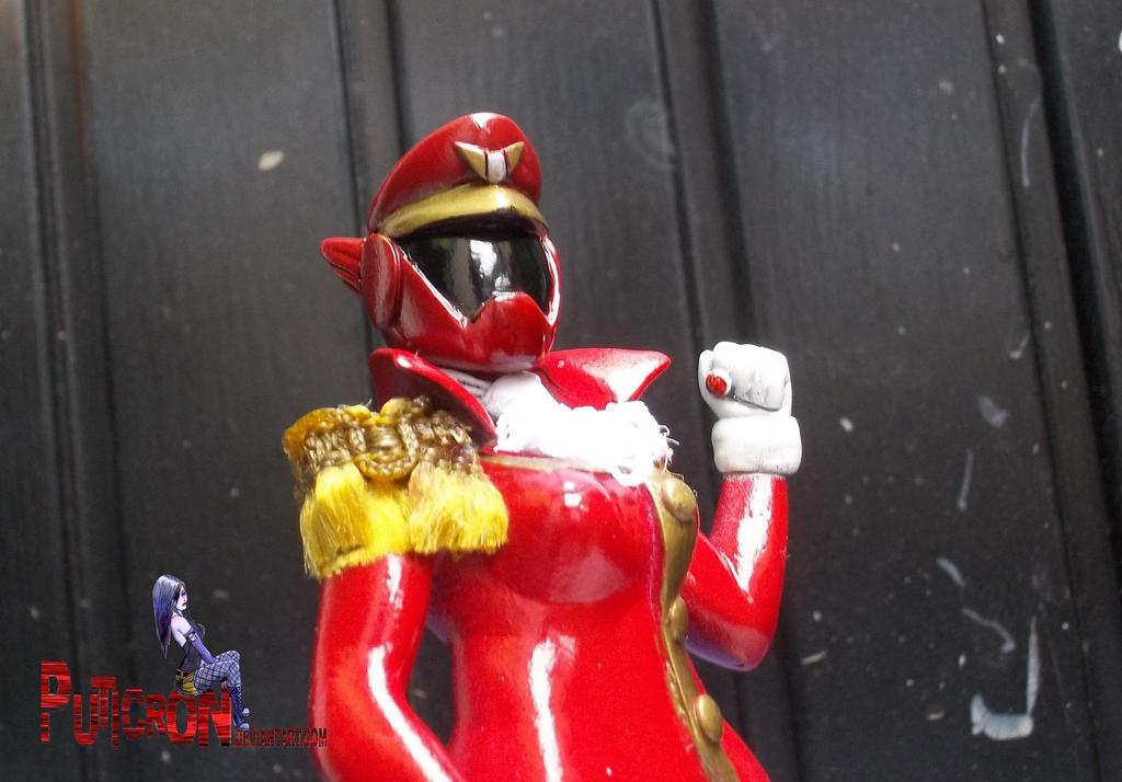 power rangers rainbow guardians oc red by puticron