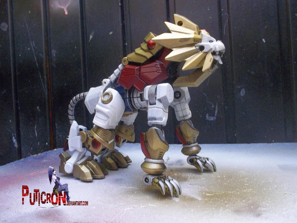 transformers custom lio convoy by puticron
