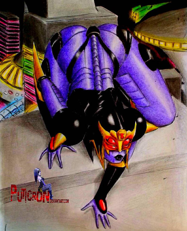 transformers blackarachnia...woman by puticron