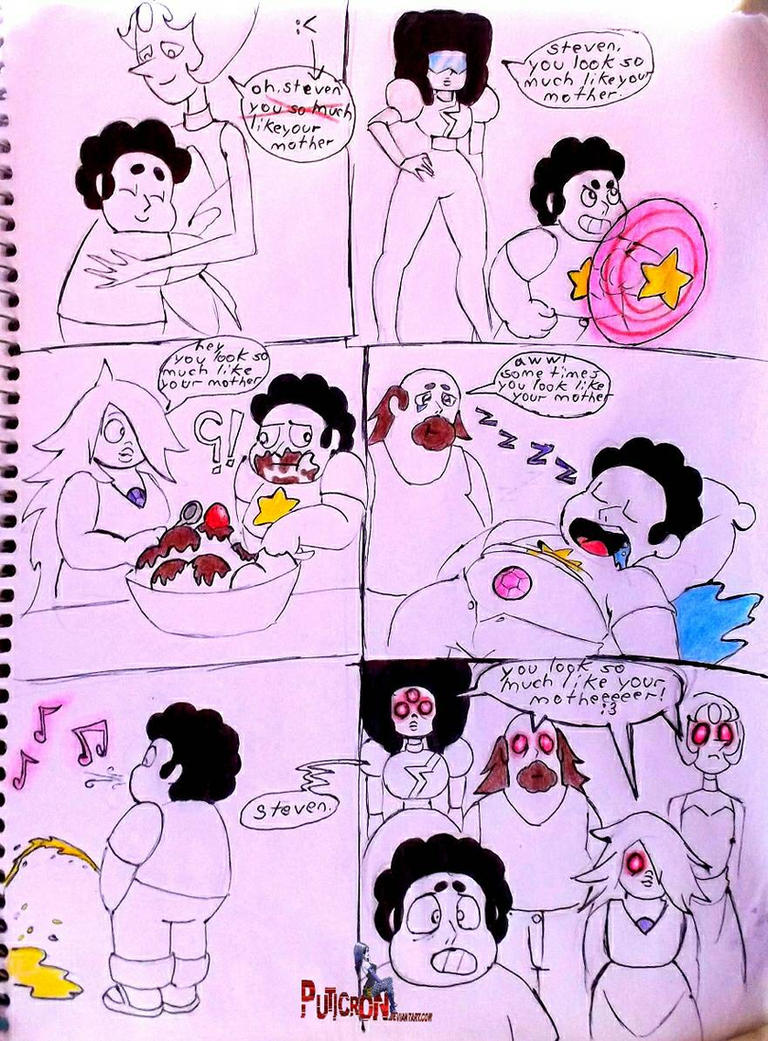 steven universe so much like your mother by puticron