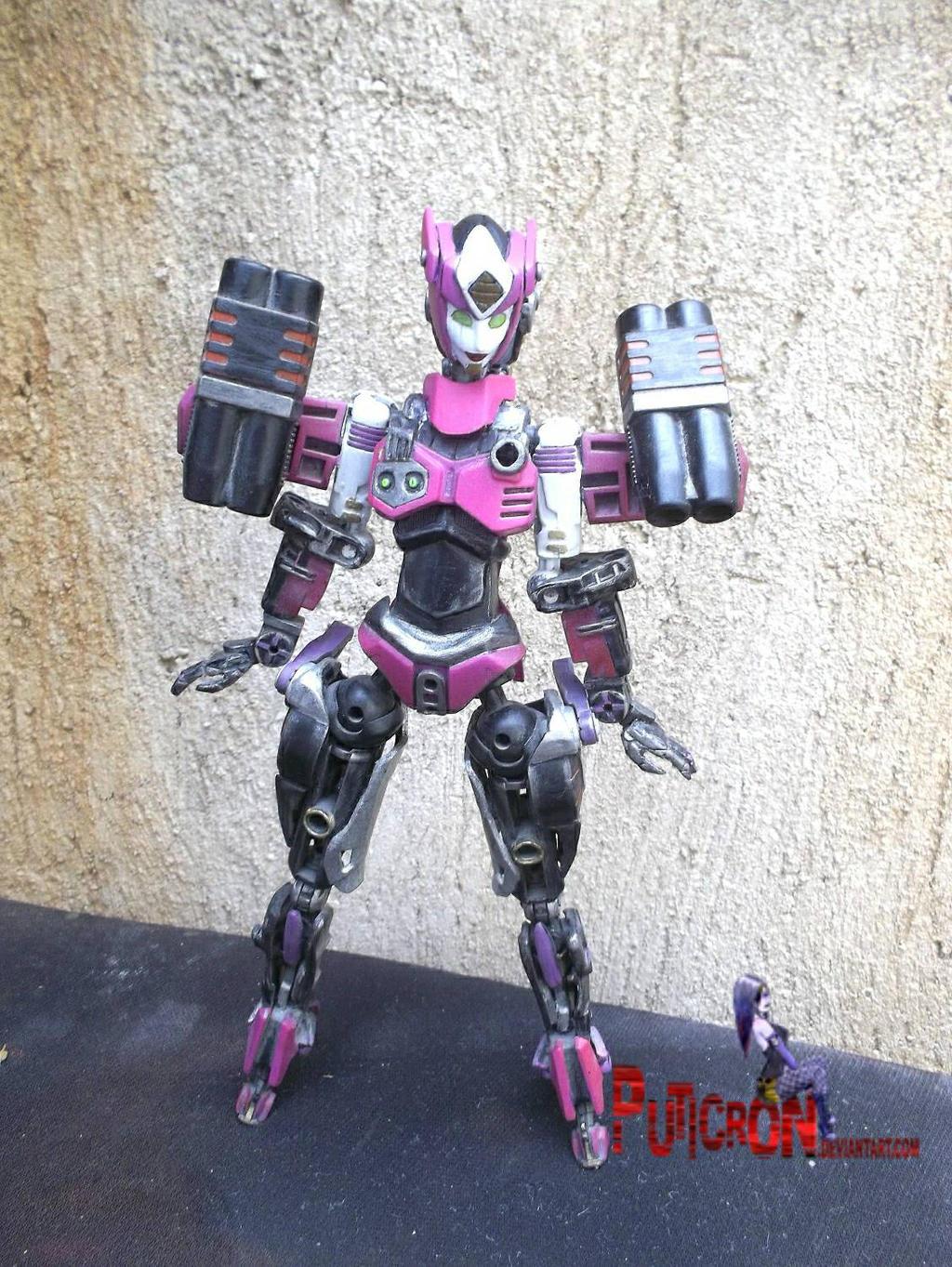 transformers custom elita-1 aoe new head by puticron
