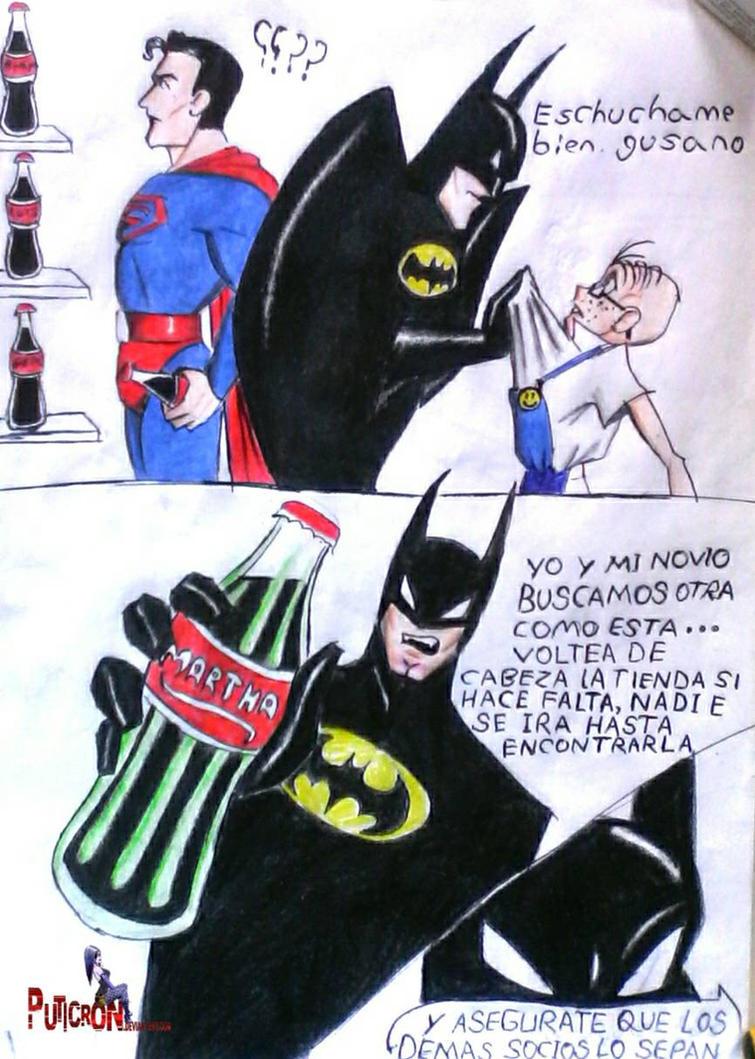 batman vs superman : martha by puticron