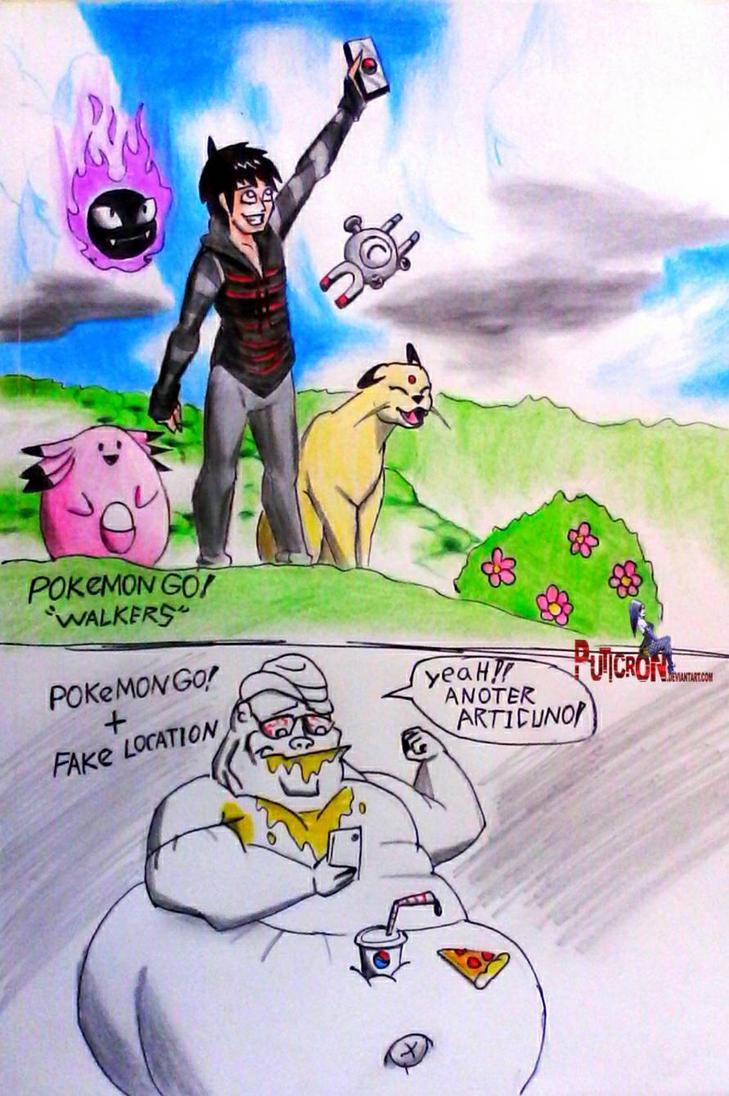 pokemon go! hack by puticron