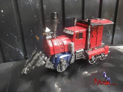Transformers hearts of steel optimus prime custom