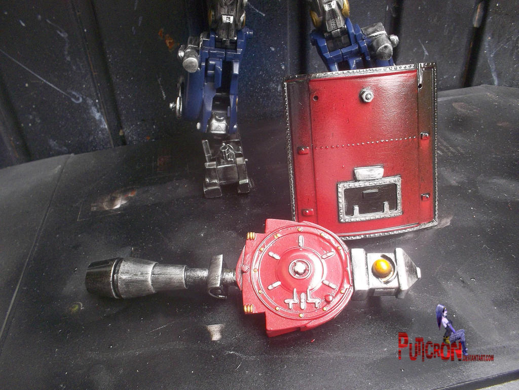 Transformers hearts of steel optimus prime custom by puticron