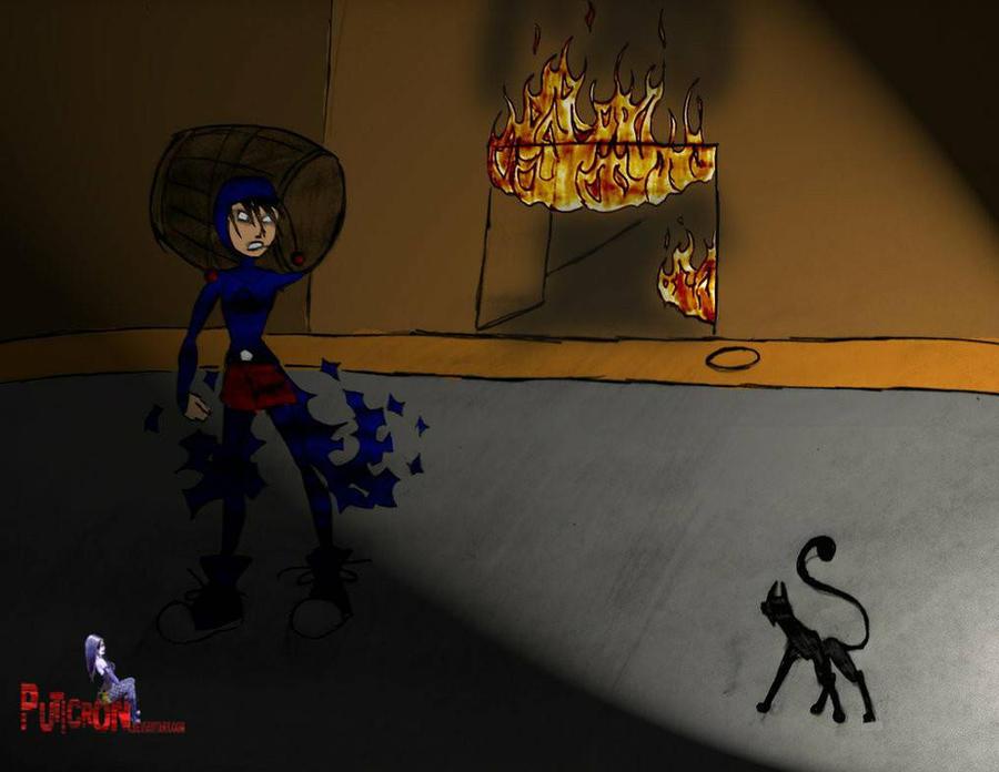 el chapulin oscuro y el barril funebre creepyspast by puticron