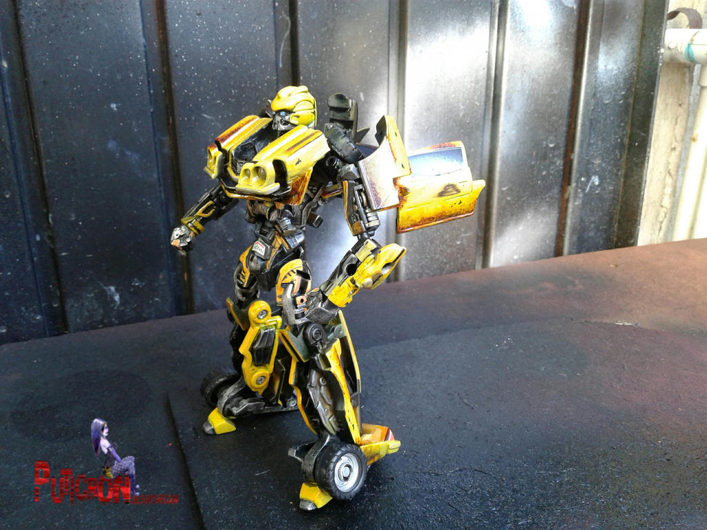 transformers bumblebee custom camaro 76's by puticron