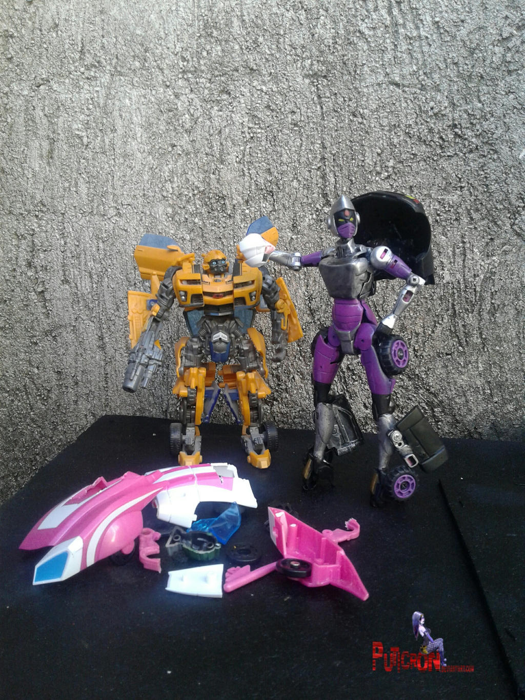 transformers custom nightbird by puticron