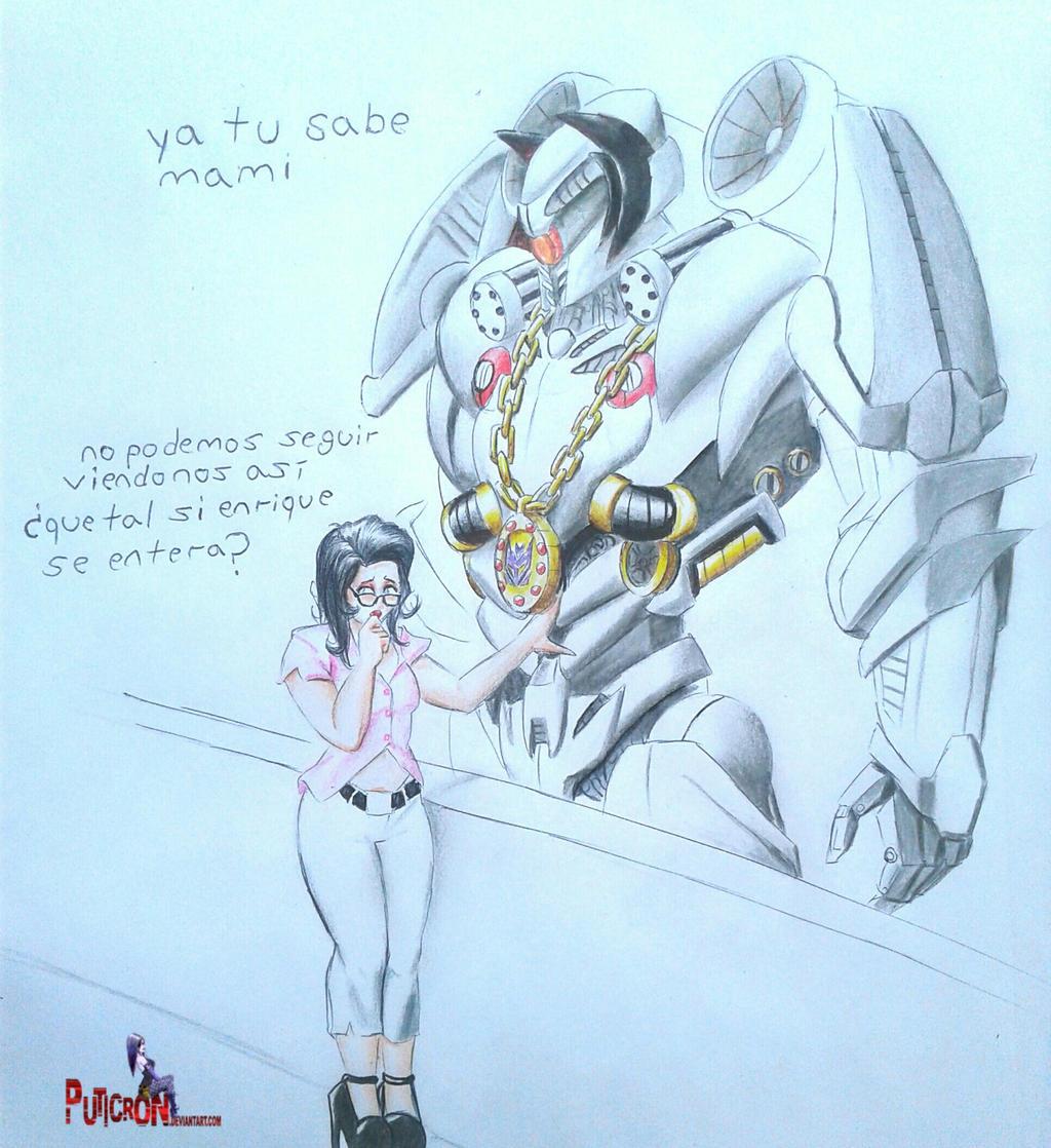 transformers tlk nitro Zeus x Enrique wife by puticron