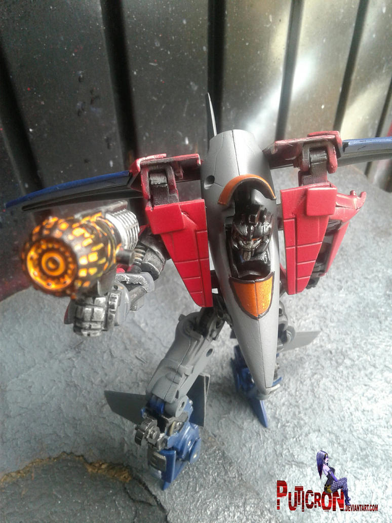 bumblebee movie starscream figure custom by puticron