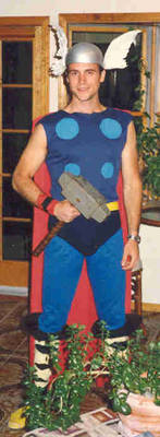 me in my thor outfit