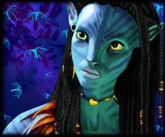 Neytiri by AuroraShadows