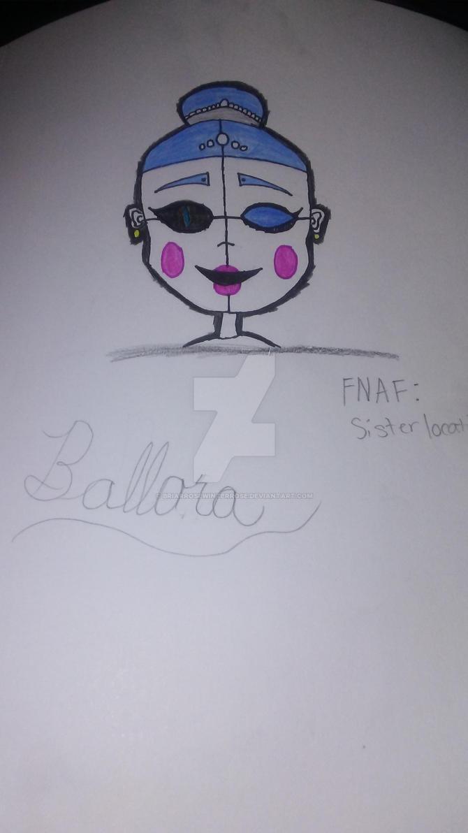 FNAF: Sister Location - Ballora by BriarRoseWinterRose