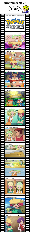 Pokemon BW Screenshots Meme by bubblesishot46853