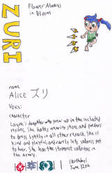 Fire Emblem Fates 4Koma Character Guide: Alice by bubbles46853
