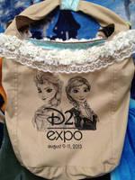 Custom D23 Expo Frozen Bag by daphnetails
