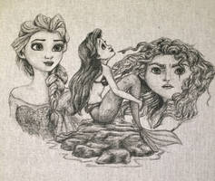 Disney Leading Ladies 2 by daphnetails