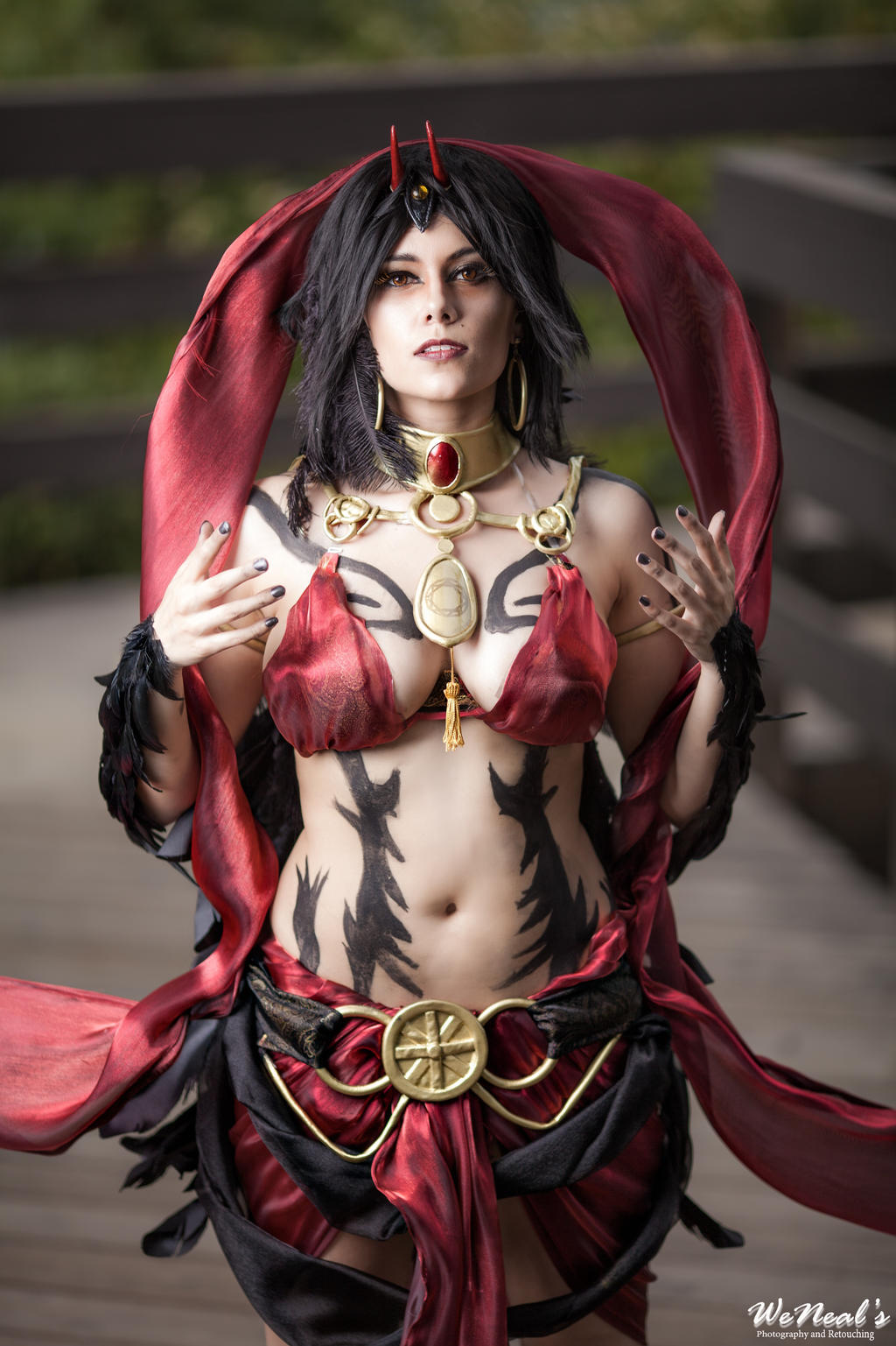 Rule and Submission - Focalor by SilverShadeCosplay