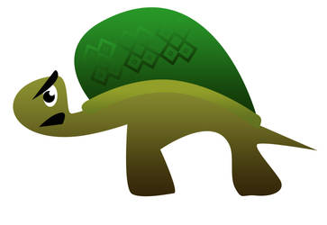 Grouchy Turtle by MikeUnderhill