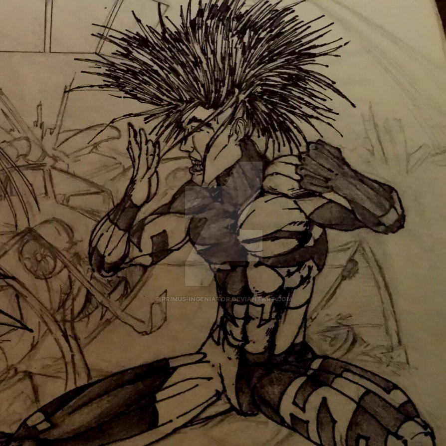 Huntarr [ crop/edit: abortive splash-page '90's ] by Primus-Ingeniator