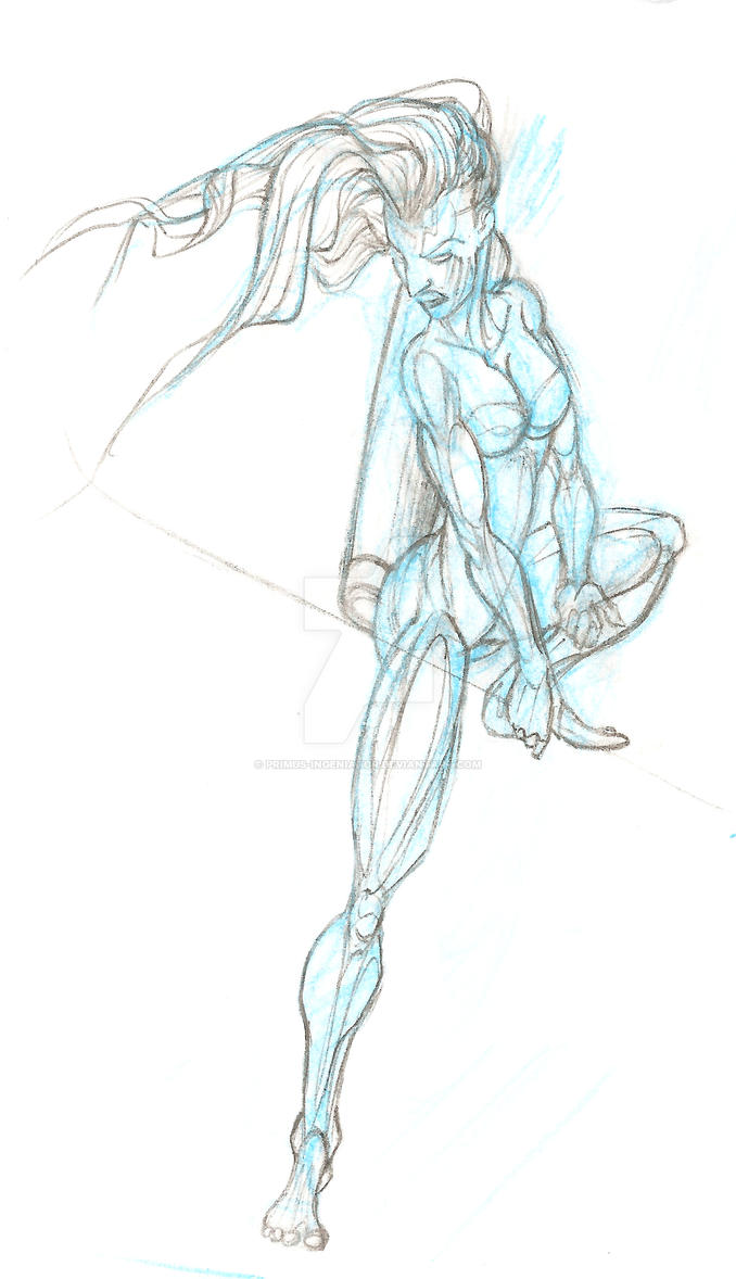 a veteran *Stride-Watch* [ preliminary sketch ] by Primus-Ingeniator