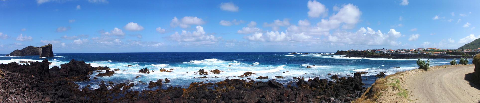 Ilhue dos Mosteiros, Azores by fredjblack