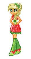 8-bit EG Crystal Applejack by Colorpalette-art
