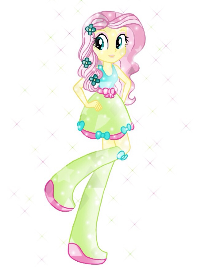 EG Crystal Fluttershy By Colorpaletpony On DeviantArt
