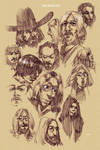beatles sketches