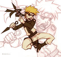 Naruto Shippuden by erosell