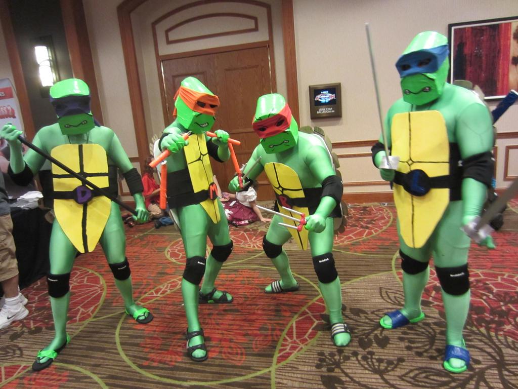 A-Kon 23 - Teenage Mutant Ninja Turtles by Soynuts