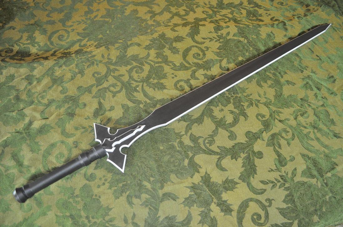 SAO - ALO - Kirito's Long Sword by Soynuts