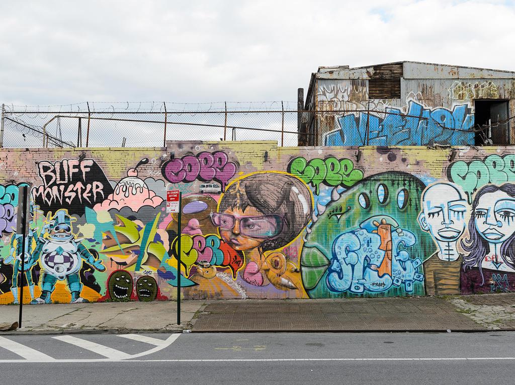 Graffiti on New York street by SelimZherkaUS