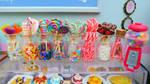 1/6th scale Sweet Shop - miniature sweet shop