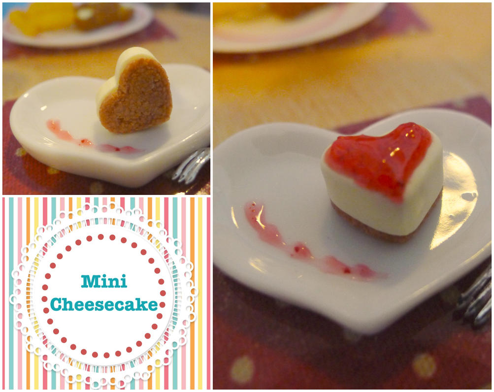 Mini Cheesecake by LittlestSweetShop