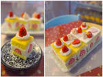 1/6 scale strawberry shortcake squares