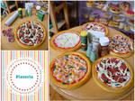 Miniature pizzas!
