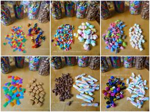 Littlest Sweet Shop sweets (miniature)