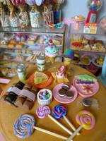 Summer treats miniatures by LittlestSweetShop