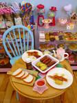 Breakfast at Littlest Sweet Shop by LittlestSweetShop