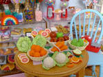 Fruits and Vegetables for March by LittlestSweetShop